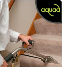 Aquad Property Services: Carpet steam cleaning